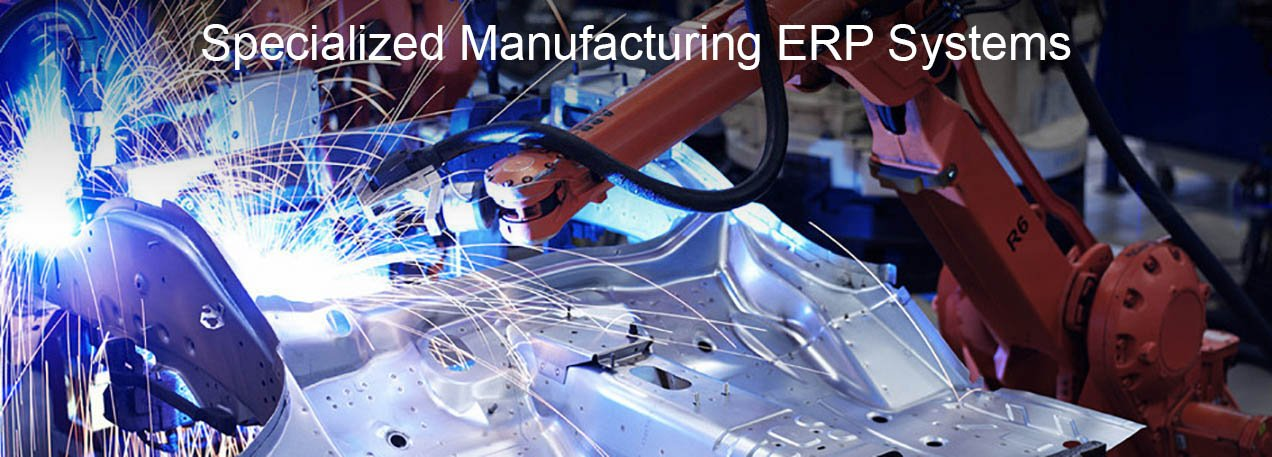manufacturing erp with text