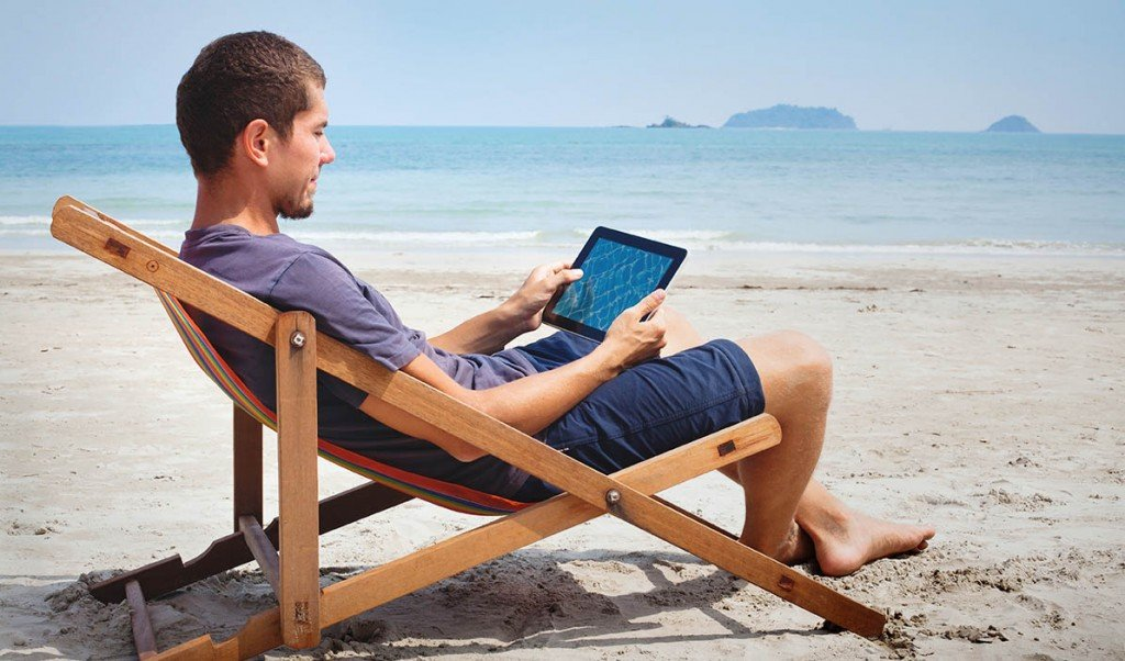 Mobile devices give you freedom to work where you want.