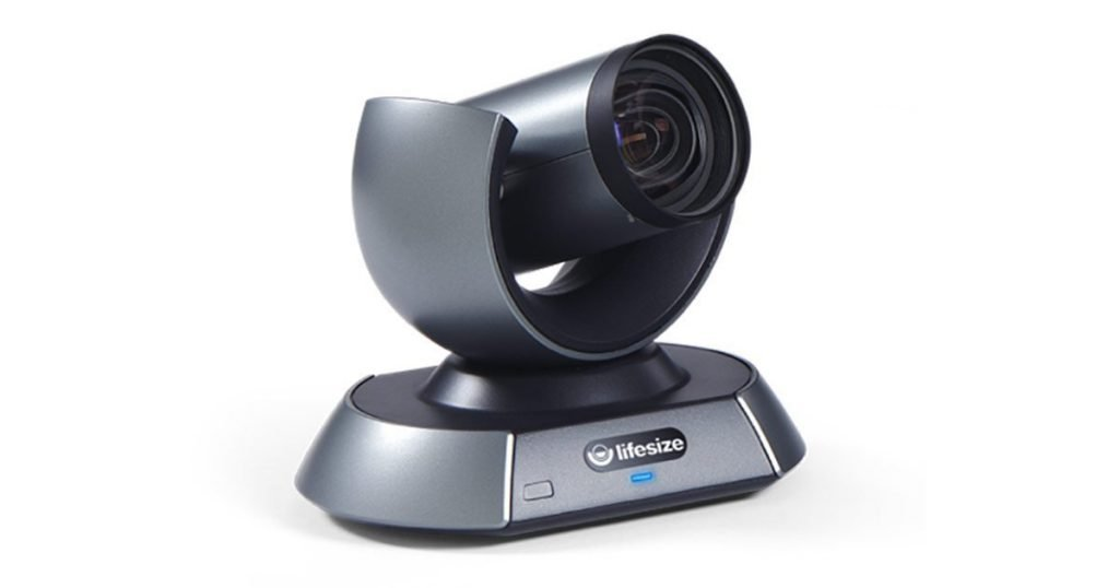 The Lifesize 10x zoom camera is an ideal option for large board rooms.